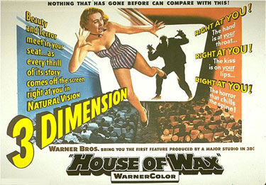 House of Wax 3D movie poster